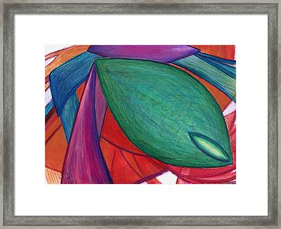 Imagine The Otherwise Framed Print by Kelly K H B