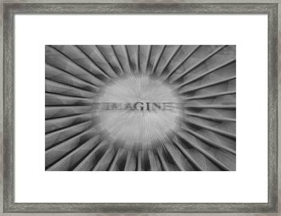 Imagine Zoom Framed Print