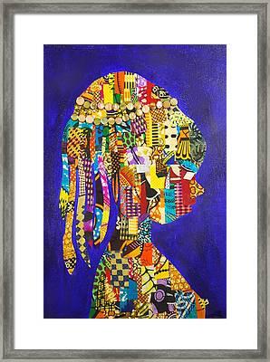 Imani Framed Print