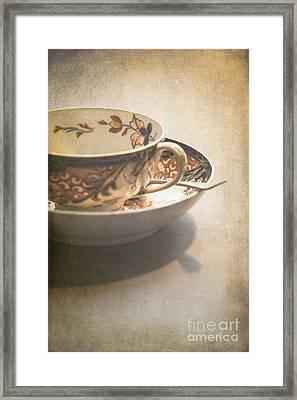 Imari Cup And Saucer Framed Print