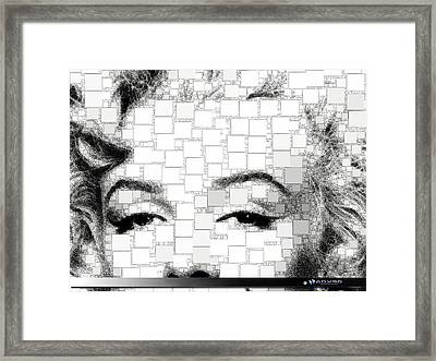 iMarilyn 009 Framed Print
