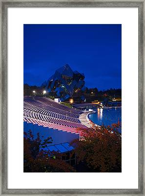 Imax Theater, Futuroscope Science Park Framed Print by Panoramic Images