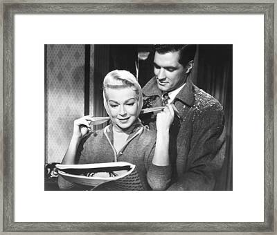 Imitation Of Life, From Left Lana Framed Print by Everett