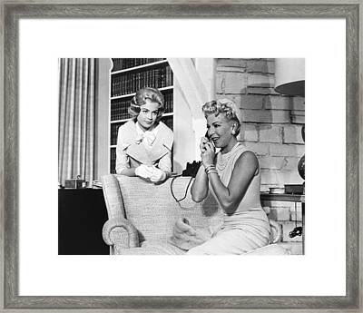 Imitation Of Life, From Left Sandra Framed Print by Everett