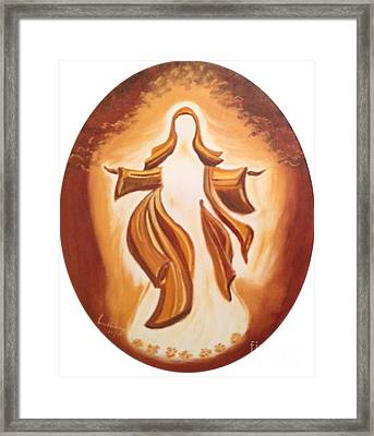 Immaculate Conception Framed Print by Brindha Naveen