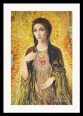 Virgin Of Guadalupe Art Framed Prints