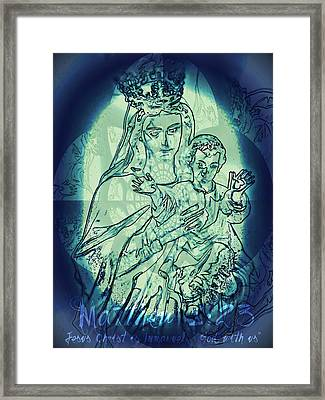 Immanuel God With Us Framed Print