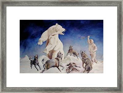 Immediate Danger Framed Print by Jean Yves Crispo