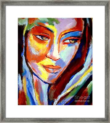 Framed Print featuring the painting Immersed by Helena Wierzbicki