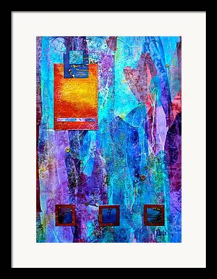 Tie Dye Effect Framed Prints