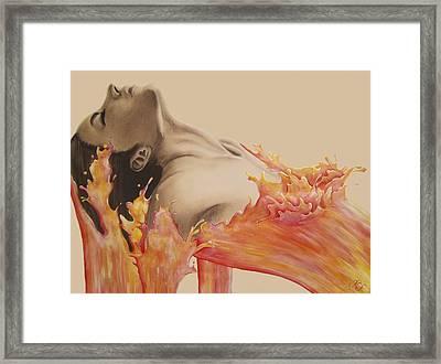 Immersion Framed Print by Karen Kliethermes