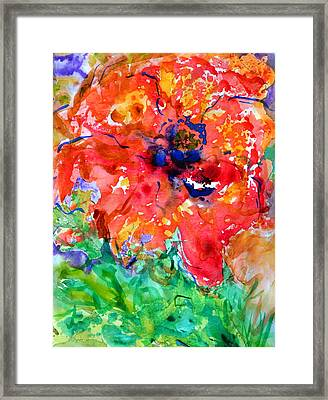 Imminent Disintegration Framed Print by Beverley Harper Tinsley