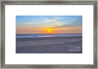 Imminent Light - A Tranquil Moments Landscape Framed Print by Dan Carmichael