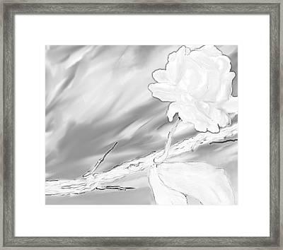 Immortal Love Framed Print by Nicla Rossini