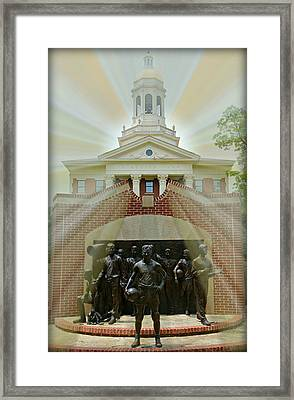 Immortal Ten Framed Print