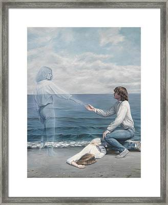 Immortality Framed Print by Lucie Bilodeau