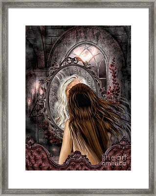 Immortality Framed Print by Mo T