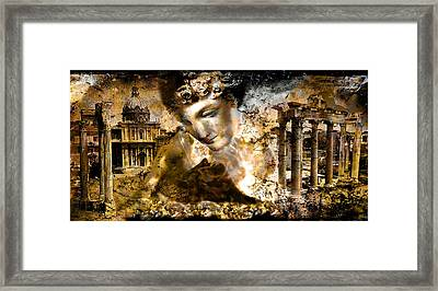 Immortality   Part Two... Framed Print by Anastasios Aretos