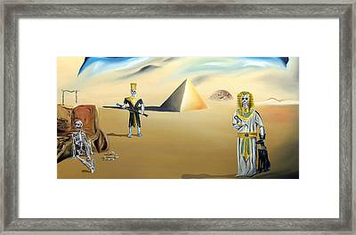 Framed Print featuring the painting Immortality by Ryan Demaree