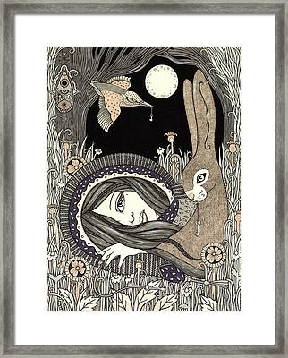 Imogen Framed Print by Anita Inverarity