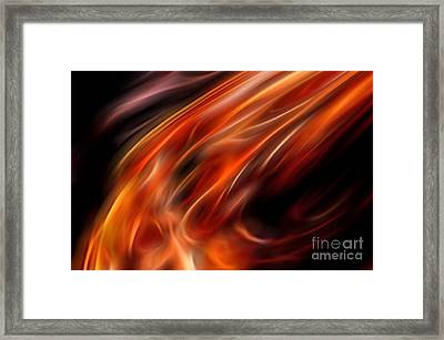 Impassioned Framed Print by Margie Chapman