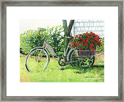 Impatiens To Ride Framed Print