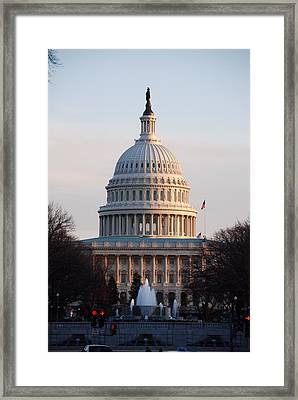 Impediment Framed Print by John Schneider