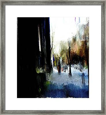 Impending Gloom Framed Print