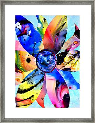 Framed Print featuring the digital art Imperfection by Christine Ricker Brandt