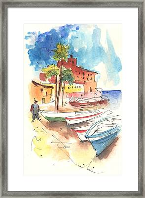 Imperia In Italy 01 Framed Print by Miki De Goodaboom