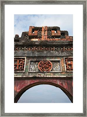 Imperial City Of Hue, Unesco World Framed Print by Keren Su