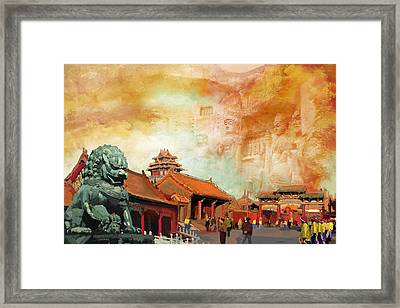 Imperial Palaces Of The Ming And Qing Dynasties In Beijing And Shenyang Framed Print by Catf