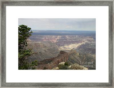 Imperial Point Vista View - Grand Canyon Framed Print