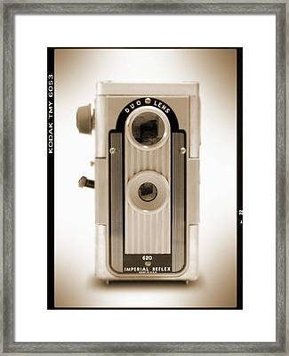 Imperial Reflex Camera Framed Print by Mike McGlothlen