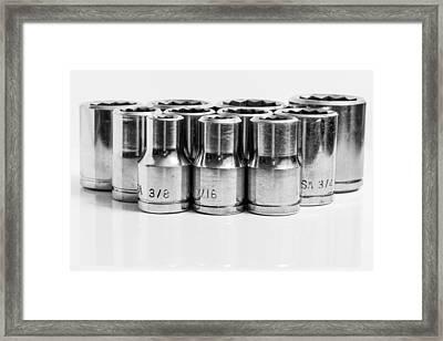 Imperial Socket Set. Framed Print by Gary Gillette