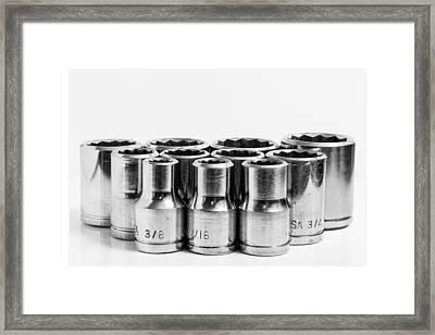 Imperial Sockets. Framed Print by Gary Gillette
