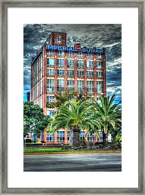 Imperial Sugar Factory Daytime Hdr Framed Print
