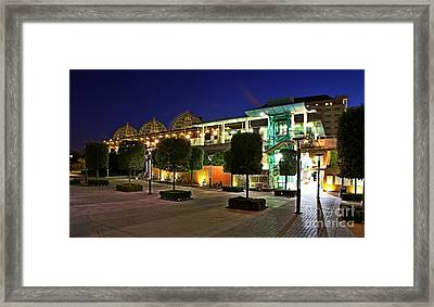 Framed Print featuring the photograph Imperial Wharf Station  by Mariusz Czajkowski