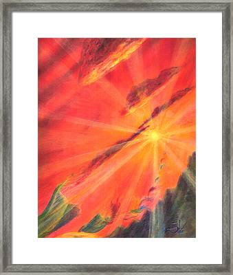 Impermanence Framed Print by Jim Ditto