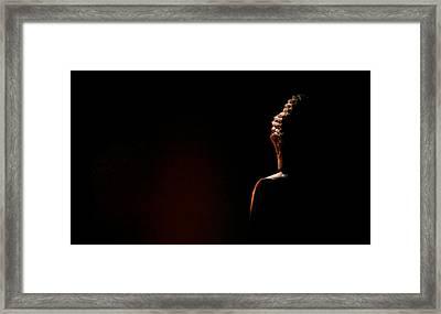 Impermanence Framed Print by Ramon Fernandez