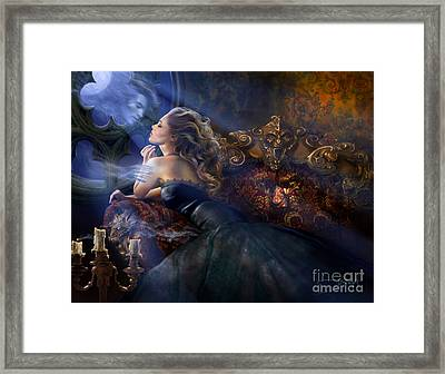 Impetuous Arrival Framed Print by Drazenka Kimpel