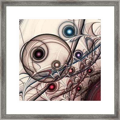 Implantation Framed Print by Anastasiya Malakhova