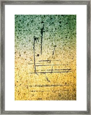 Impose Framed Print by Tom Druin