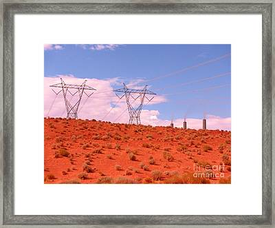Imposition Framed Print by John Malone
