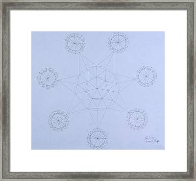Impossible Parallels Framed Print
