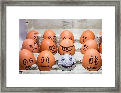 Impostor. Framed Print by Gary Gillette
