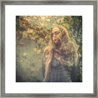 Impression II Framed Print by Taylan Apukovska