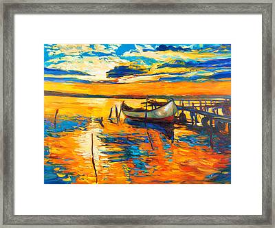 Impression Framed Print by Ivailo Nikolov