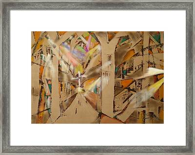 Impression Of A Cathedral  Framed Print
