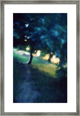 Impression Framed Print by Taylan Apukovska